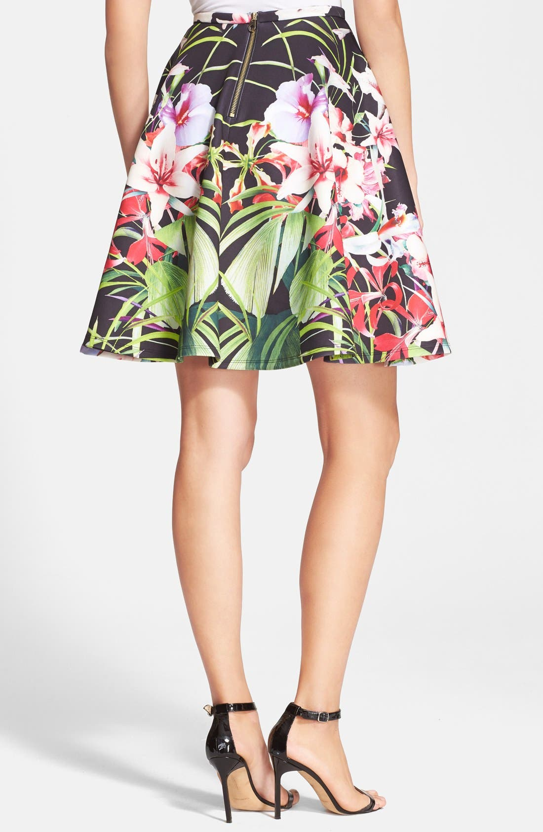 Alternate Image 2  - Ted Baker London 'Hotley' Tropical Print Skirt