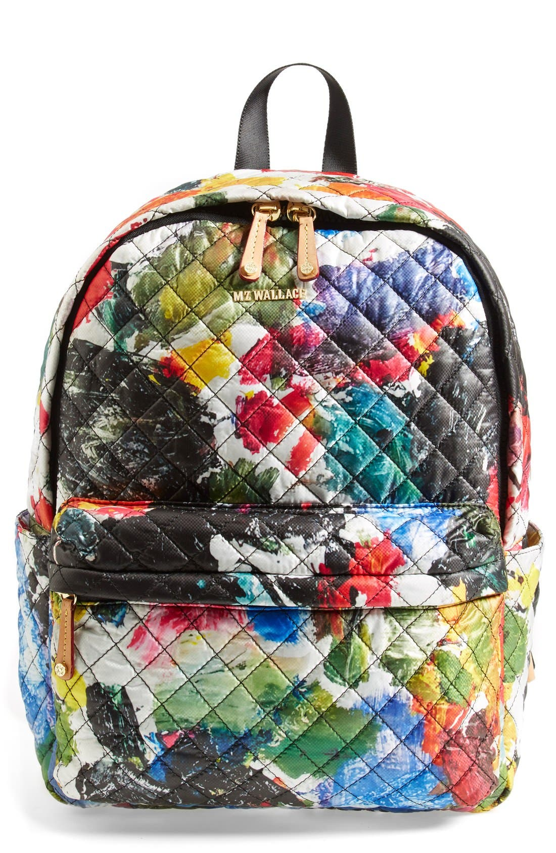 Main Image - MZ Wallace 'Metro' Quilted Oxford Nylon Backpack
