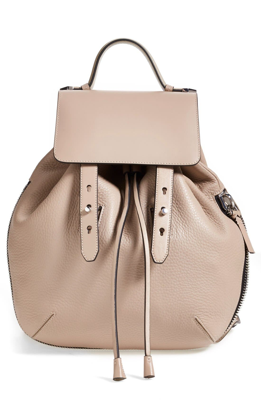 Main Image - Mackage 'Bane' Convertible Leather Backpack