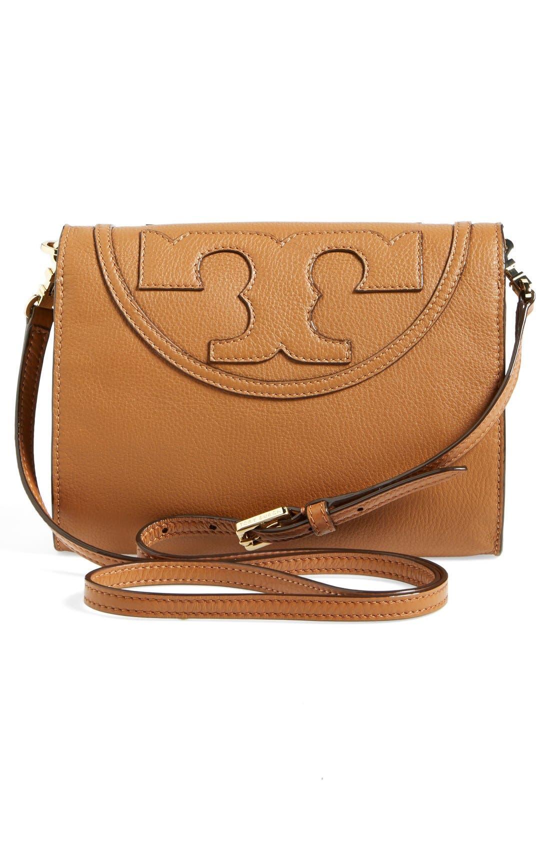 Alternate Image 3  - Tory Burch 'All-T' Leather Crossbody Bag