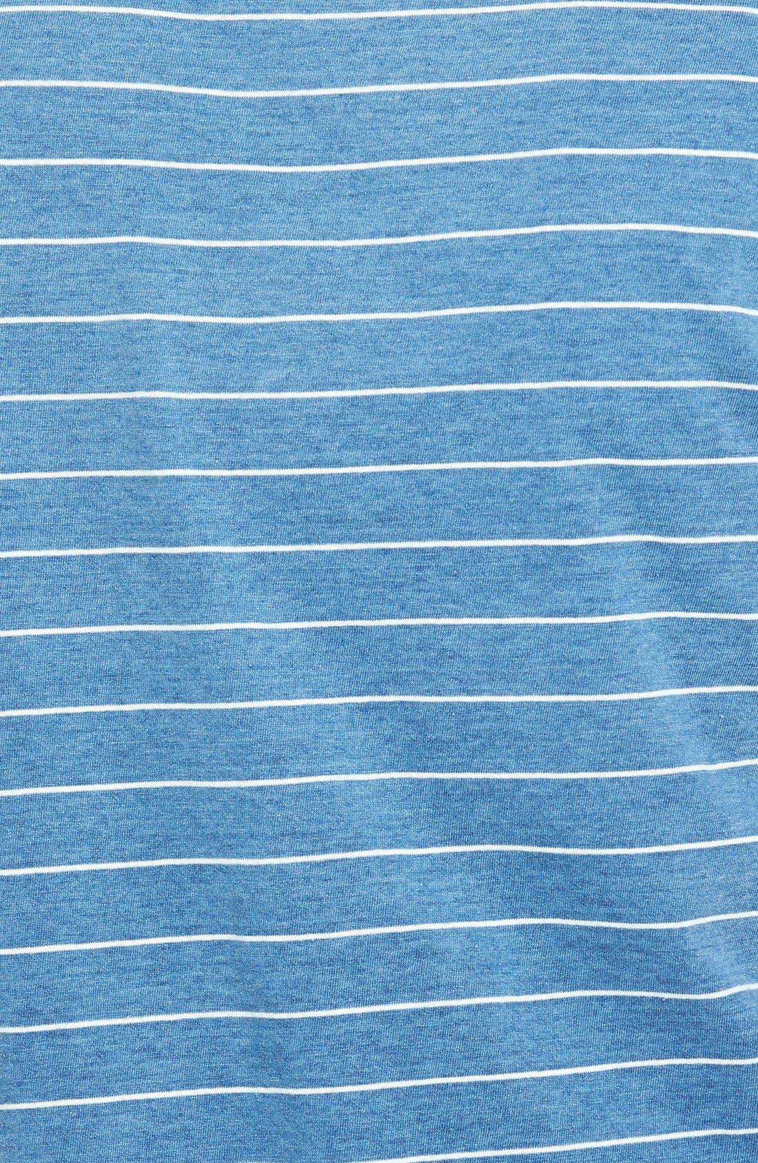 Alternate Image 3  - Tommy Bahama 'Larch Indigo' Stripe Tee