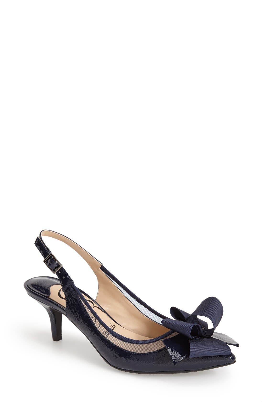 J. Reneé 'Garbi' Pointy Toe Bow Pump (Women)