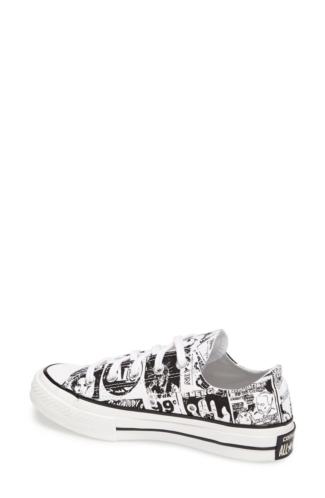 Alternate Image 2  - Converse Chuck Taylor® All Star® '70 Andy Warhol Collection Sneaker (Women)