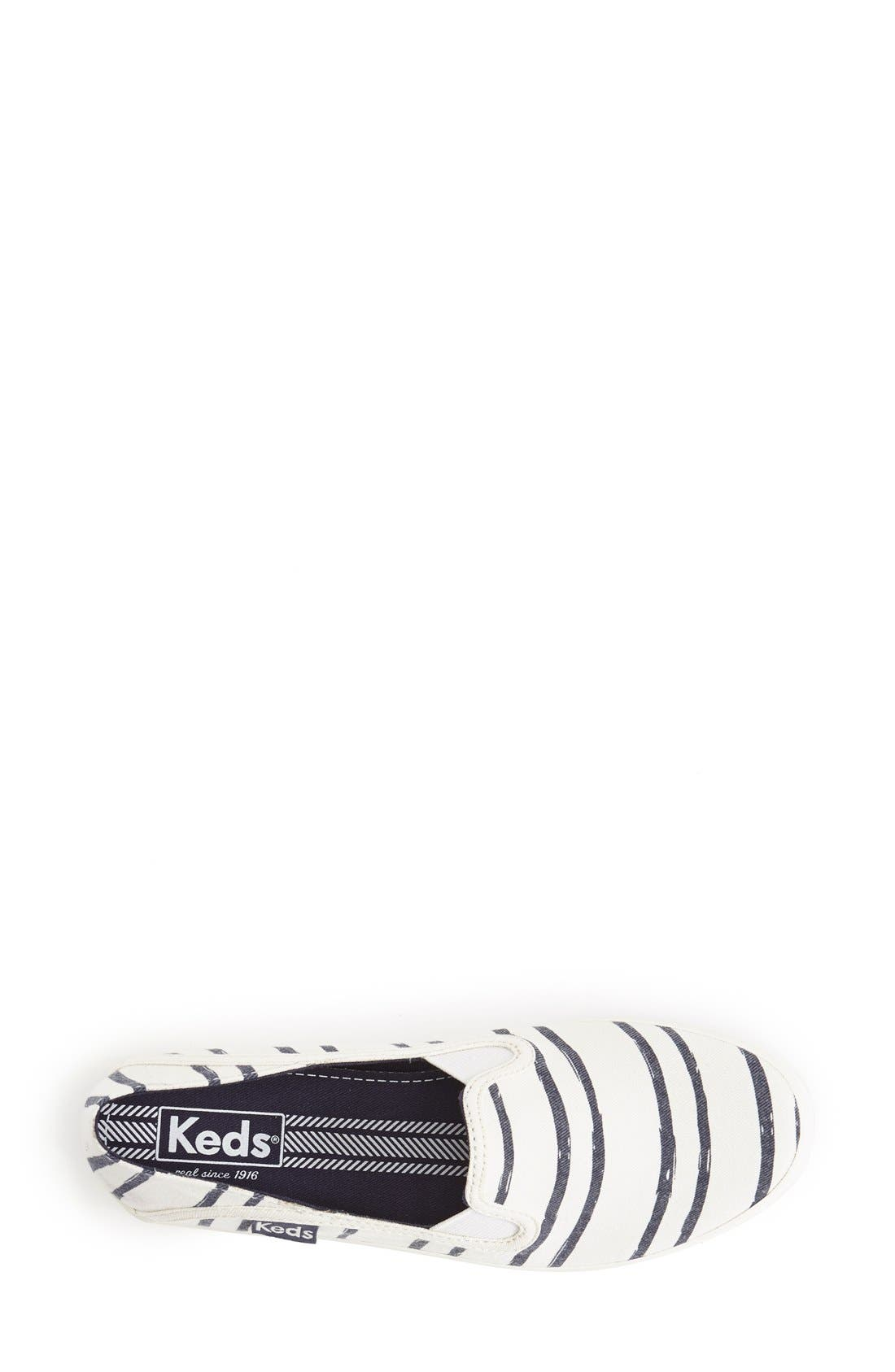 Alternate Image 3  - Keds® 'Crashback - Washed Beach Stripe' Slip-On Sneaker (Women)