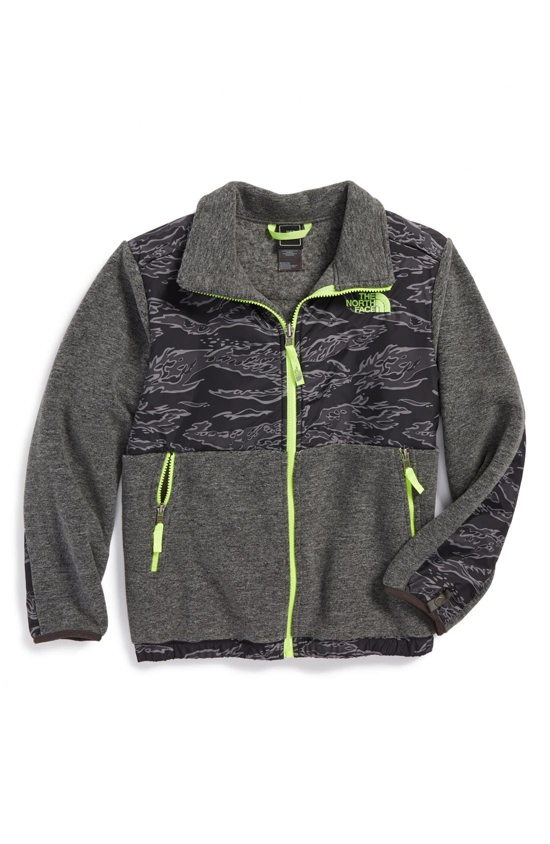 Alternate Image 1 Selected - The North Face 'Denali' Recycled Fleece Jacket (Big Boys)