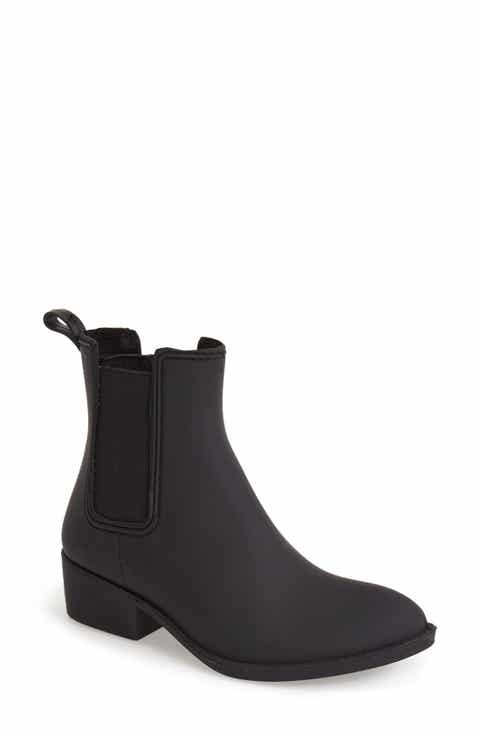 Jeffrey Campbell 'Stormy' Rain Boot (Women)