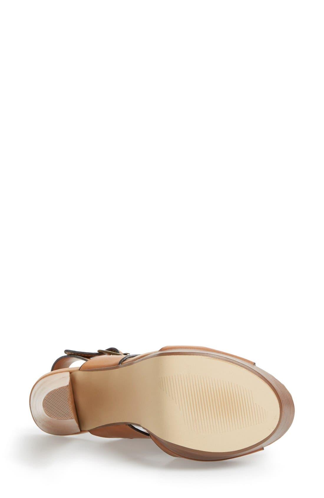 Alternate Image 4  - Steve Madden 'Dezzzy' Leather Ankle Strap Sandal (Women)