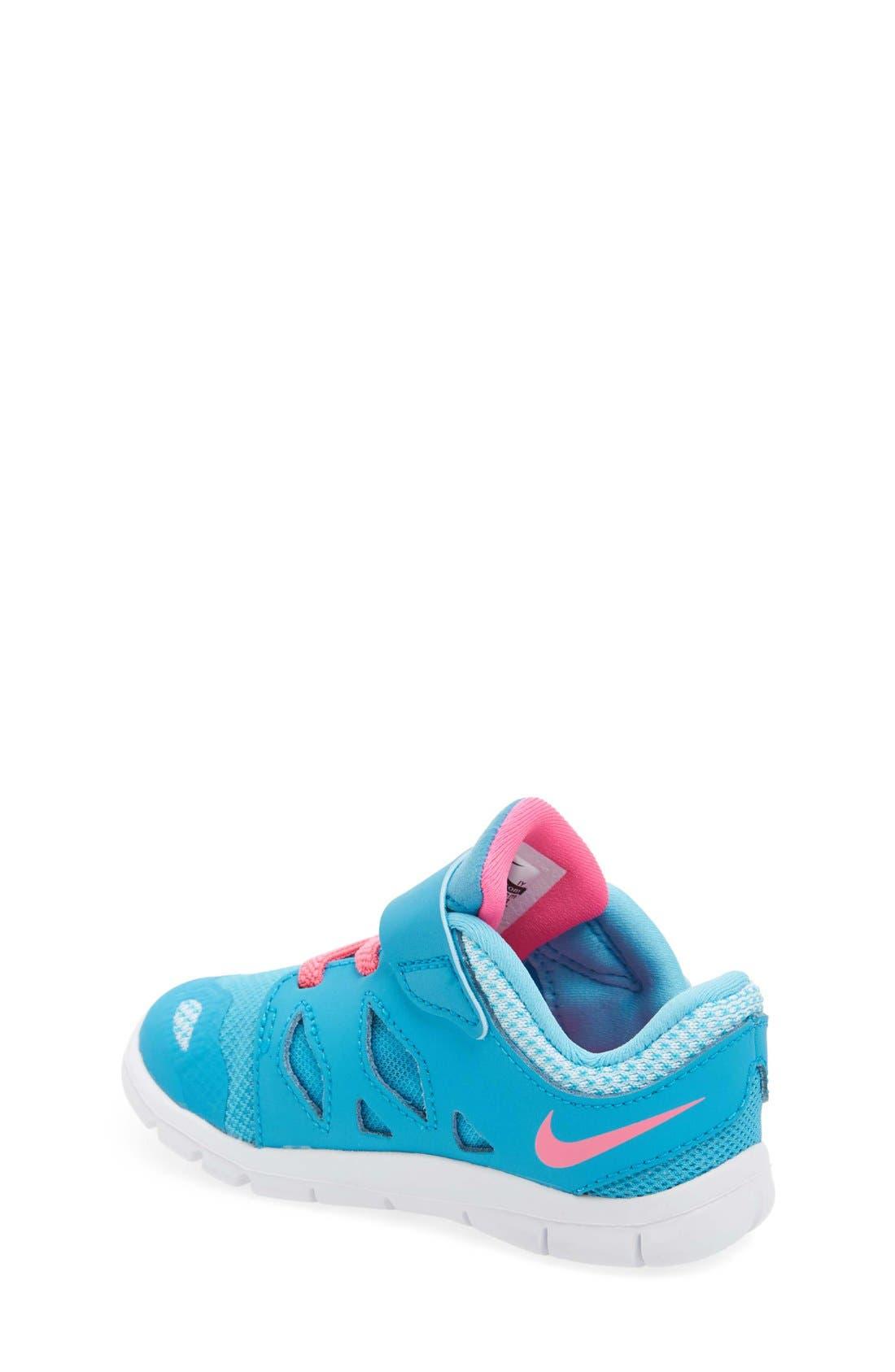 Alternate Image 2  - Nike 'Free 5' Athletic Shoe (Baby, Walker & Toddler)