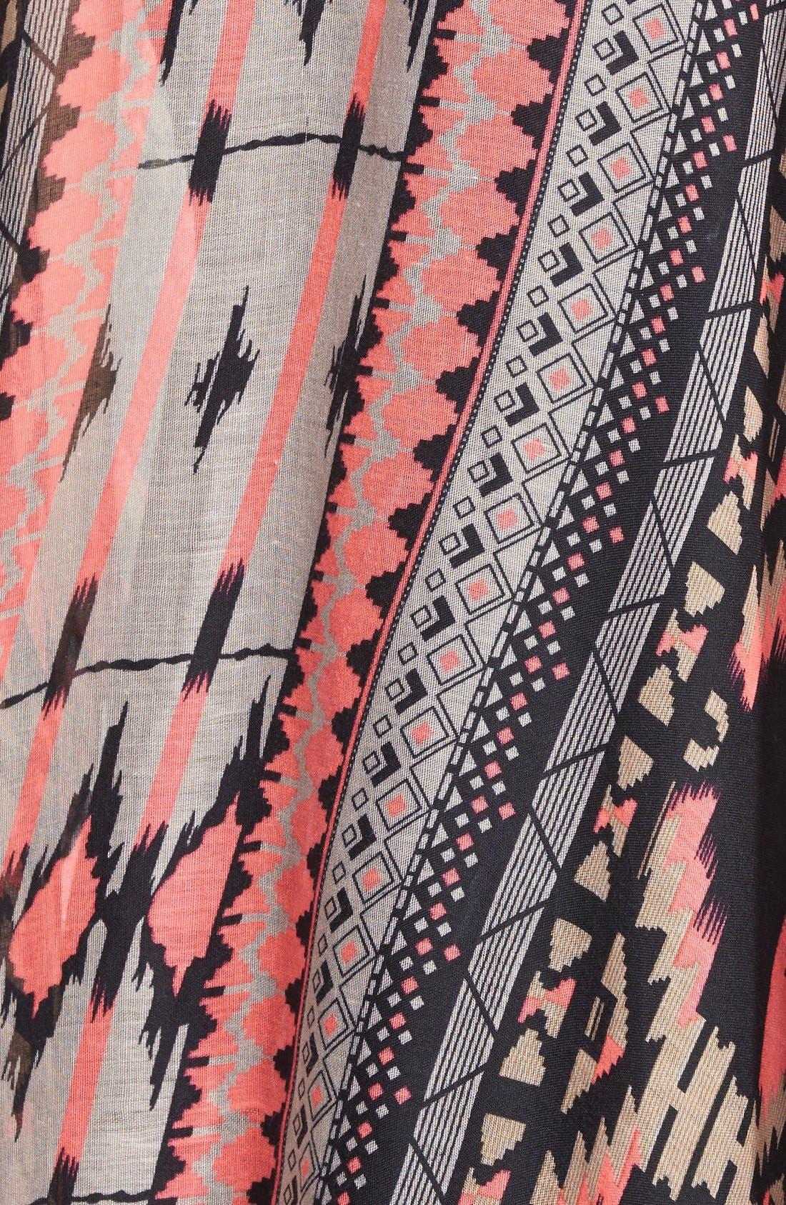 Alternate Image 3  - BP. Geo Print Kimono (Juniors)