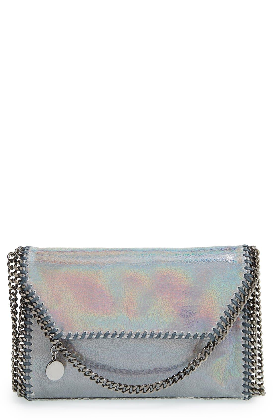 Main Image - Stella McCartney 'Mini Falabella - Hologram' Crossbody Bag