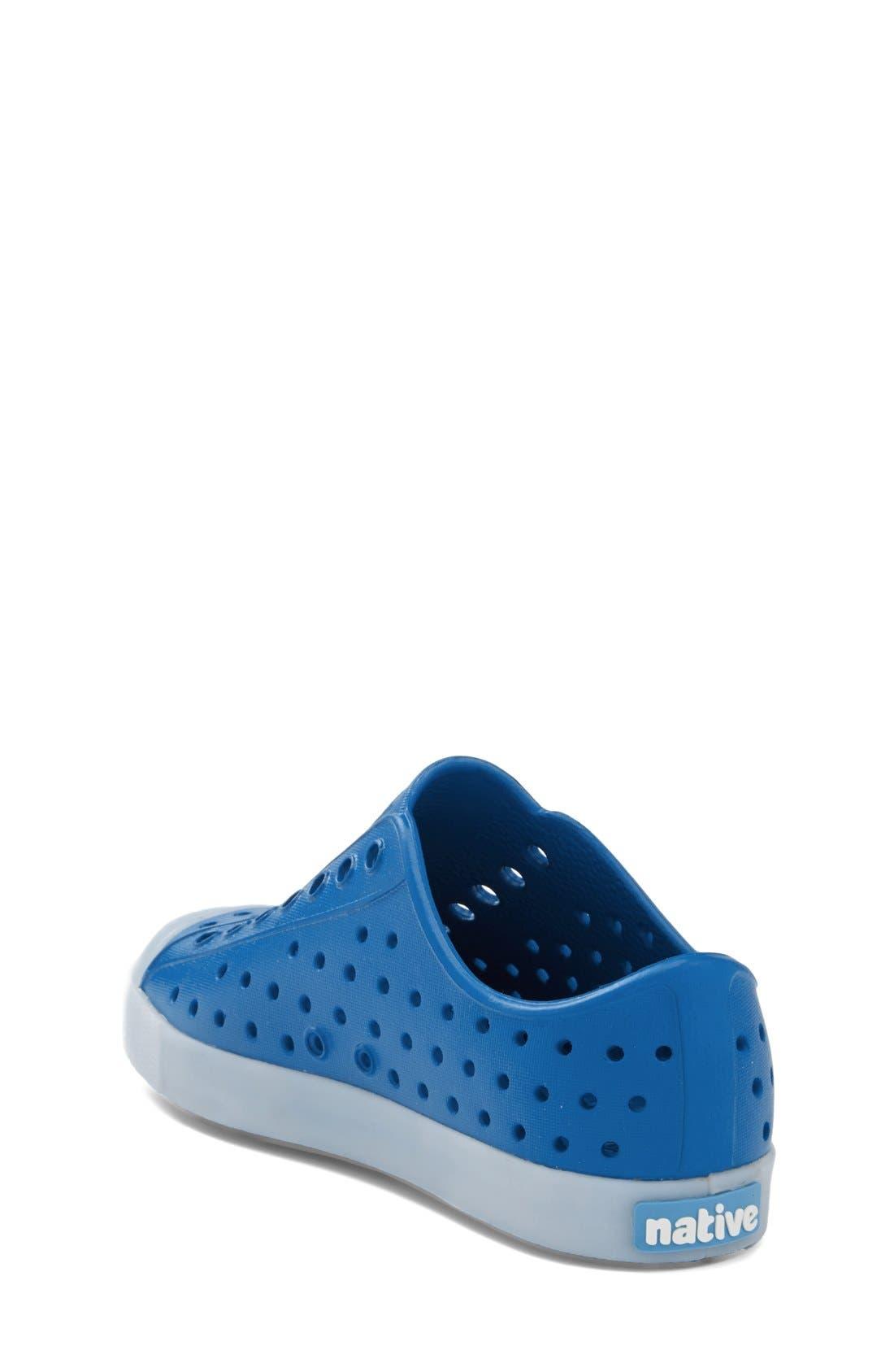Alternate Image 2  - Native Shoes Jefferson - Glow in the Dark Sneaker (Walker, Toddler & Little Kid)