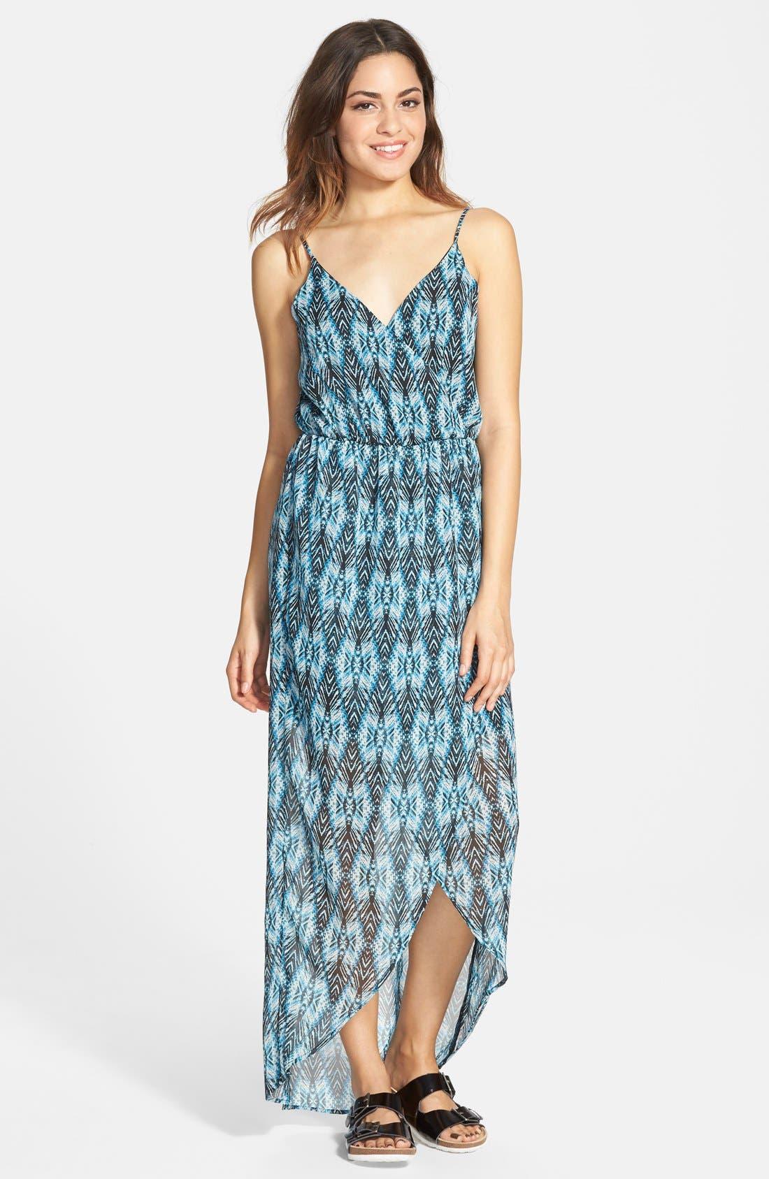Main Image - Lush Tulip Hem Maxi Dress