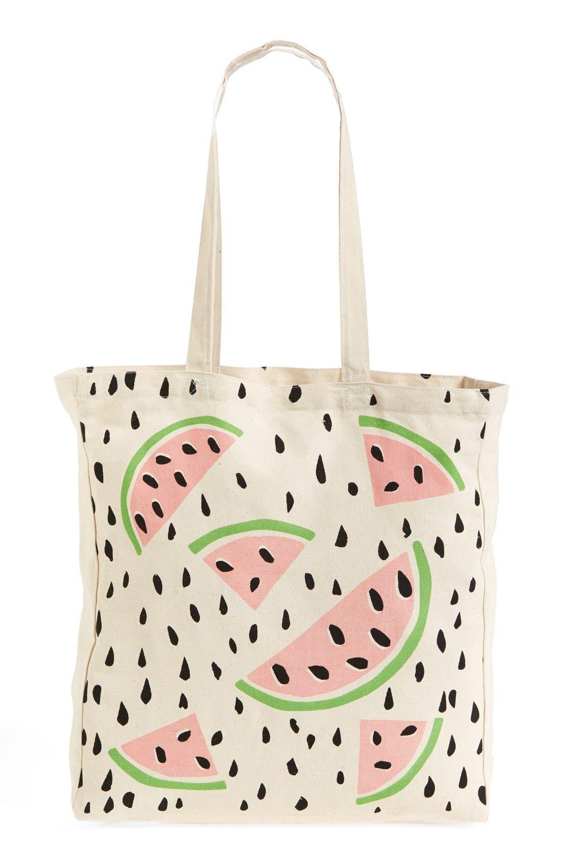 Alternate Image 4  - Tri-Coastal Design 'Watermelon' Tote