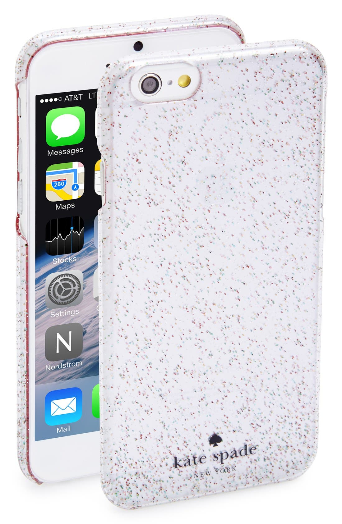 Alternate Image 1 Selected - kate spade new york 'glitter' iPhone 6 case