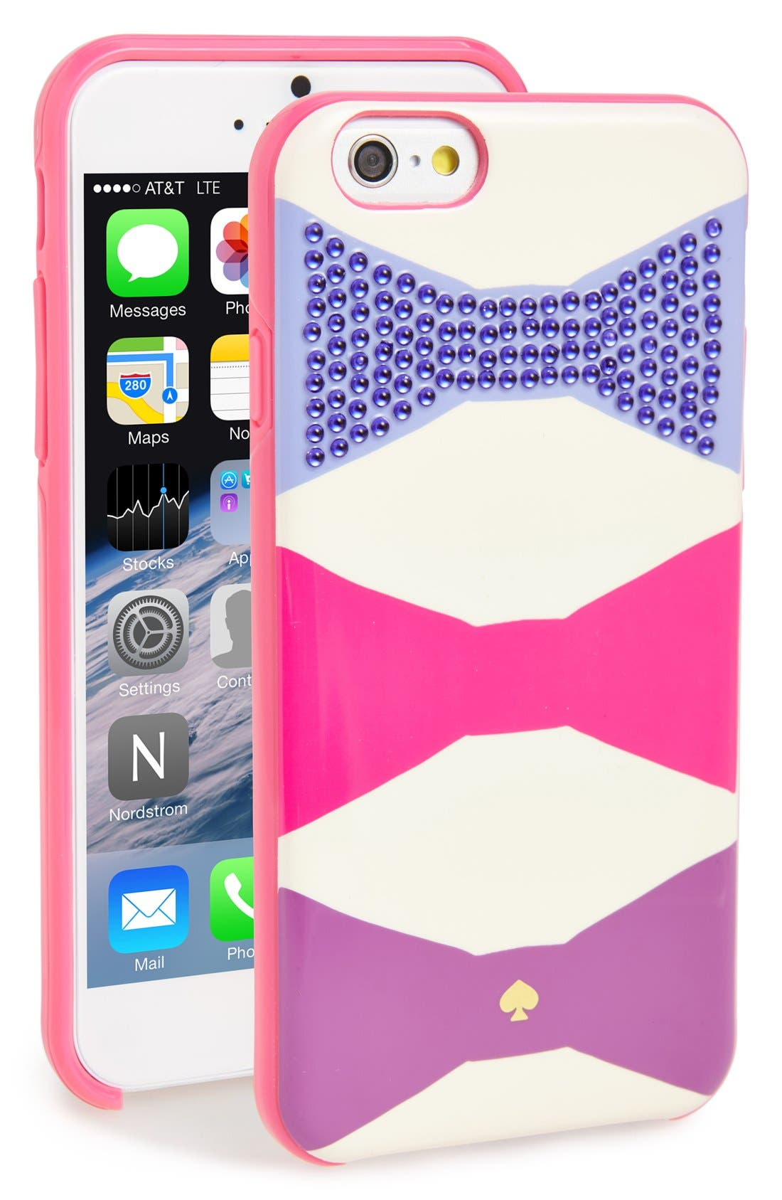 Alternate Image 1 Selected - kate spade new york 'oversized bow' iPhone 6 case
