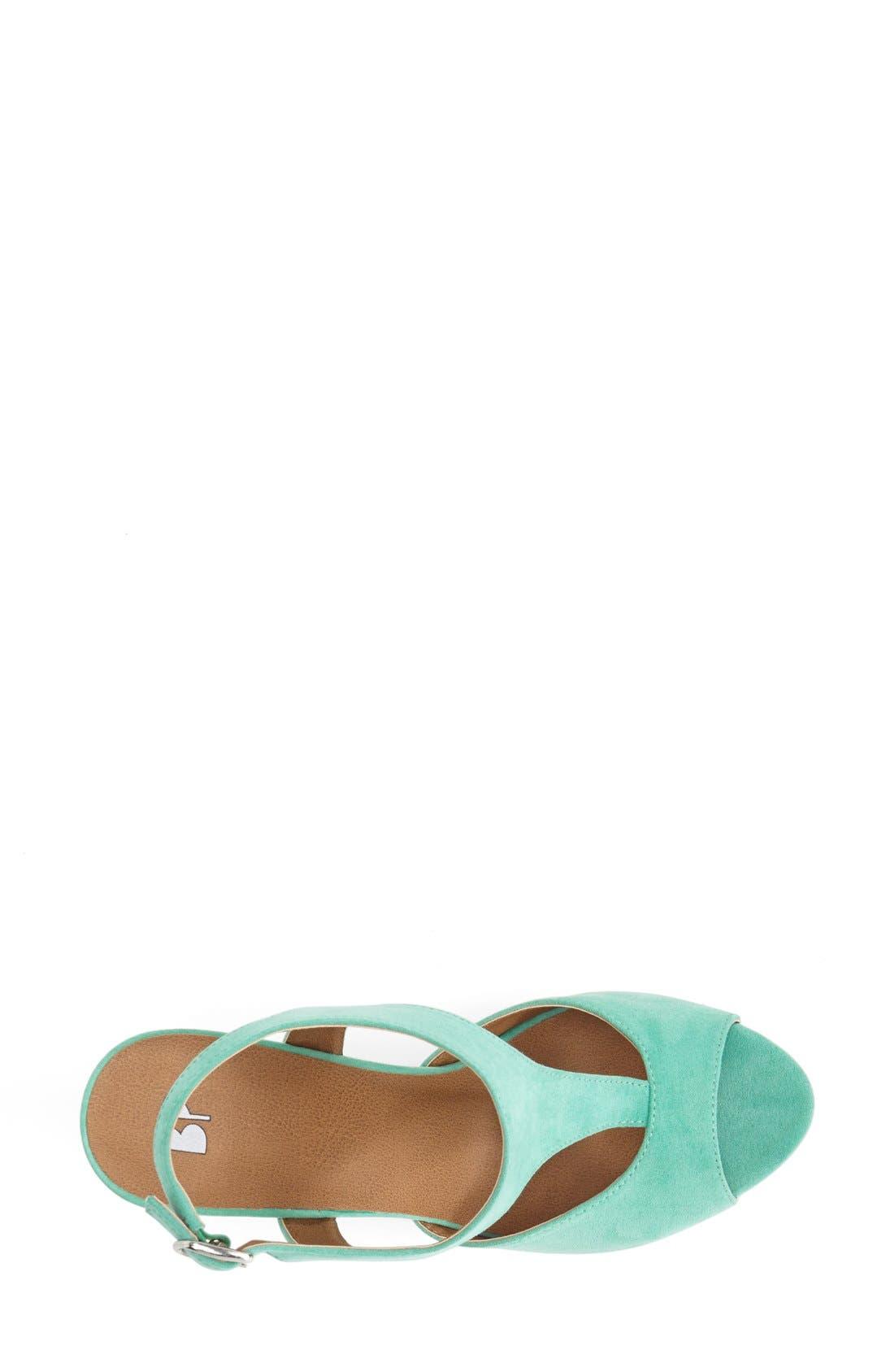 Alternate Image 3  - BP. 'Springs' Peep Toe Wedge Sandal (Women)