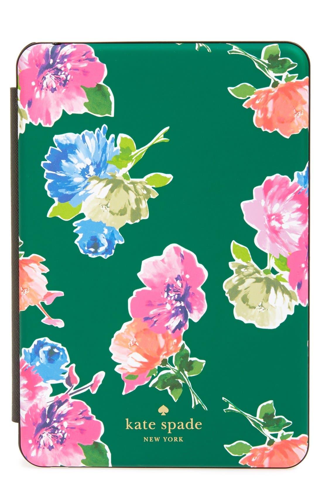 Main Image - kate spade new york 'spring blooms' iPad Mini keyboard case