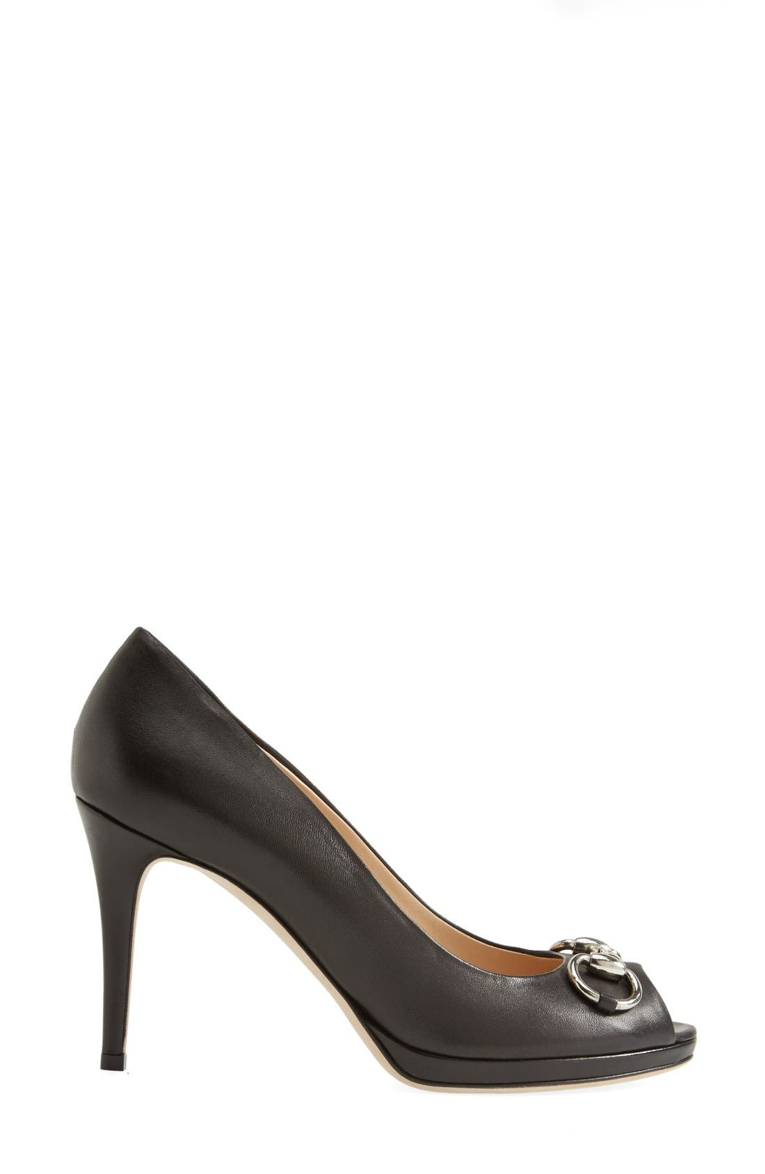 Alternate Image 4  - Gucci 'New Hollywood' Open Toe Platform Pump
