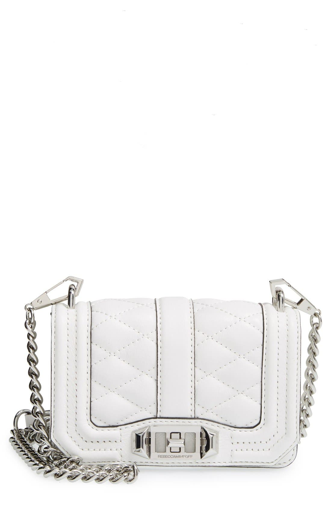 Main Image - Rebecca Minkoff 'Mini Love' Convertible Crossbody Bag