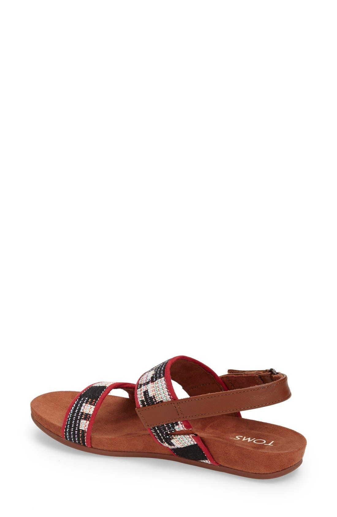Alternate Image 4  - TOMS 'Tierra' Woven Sandal (Women)