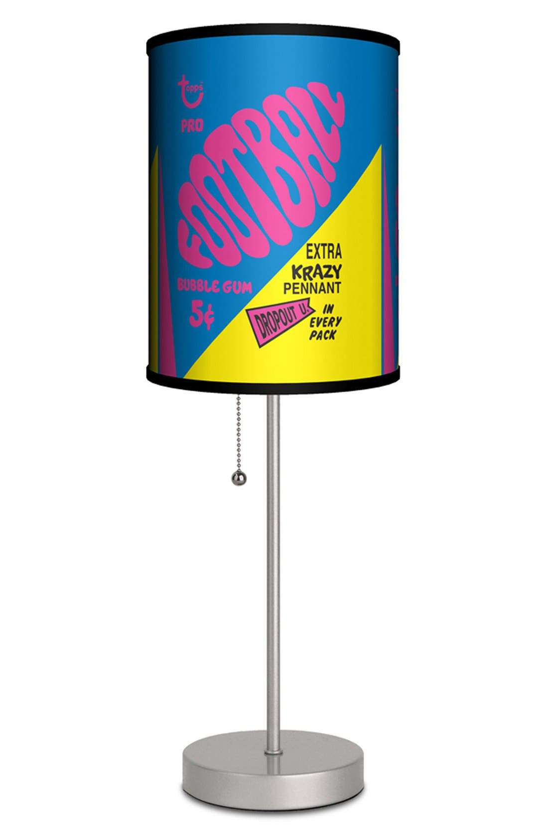 Alternate Image 1 Selected - LAMP-IN-A-BOX 'Topps Football 1967 Bubblegum Wrapper' Table Lamp