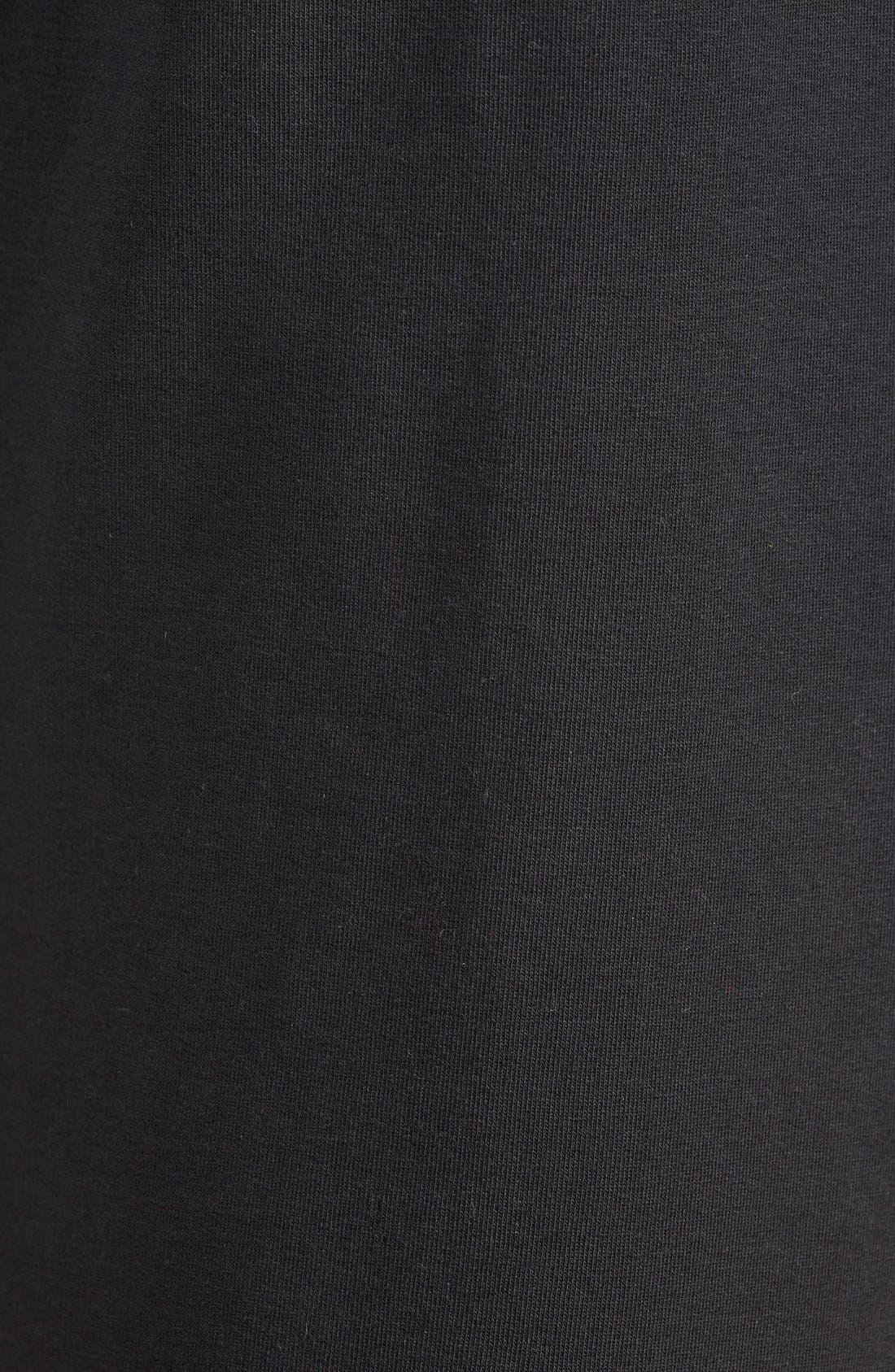 Alternate Image 4  - Nike 'RU Mesh Mix' Cuffed Sweatpants (Women)