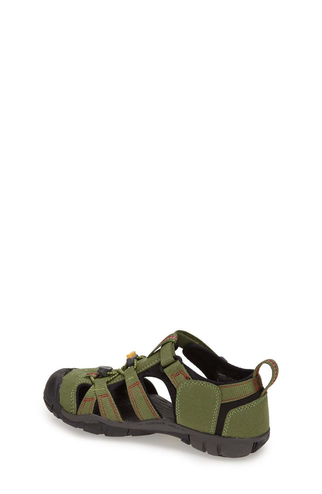 Alternate Image 2  - Keen 'Seacamp II' Waterproof Sandal (Baby, Walker, Toddler, Little Kid & Big Kid)