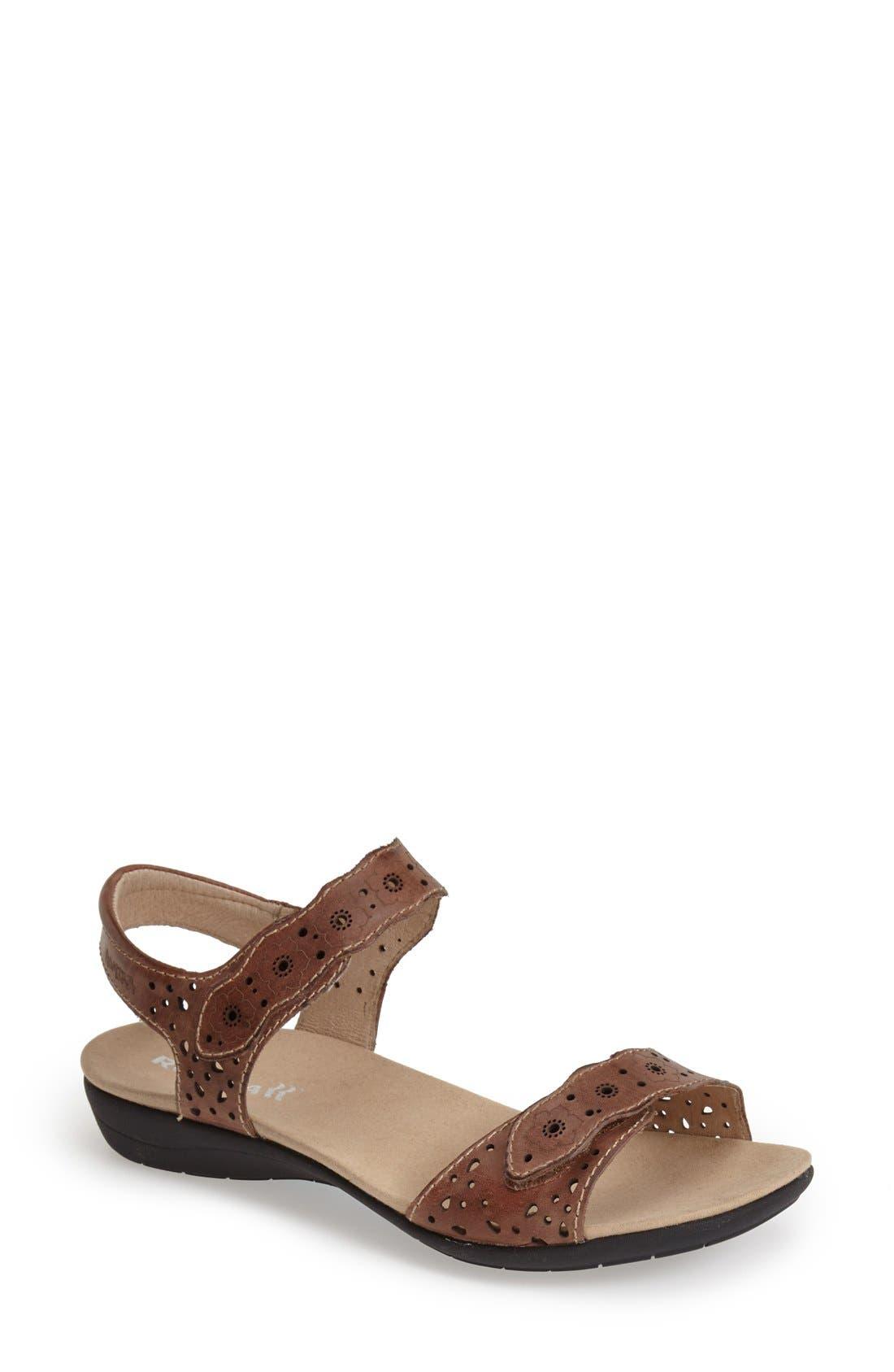 Romika® 'Tahiti 03' Quarter Strap Sandal (Women)