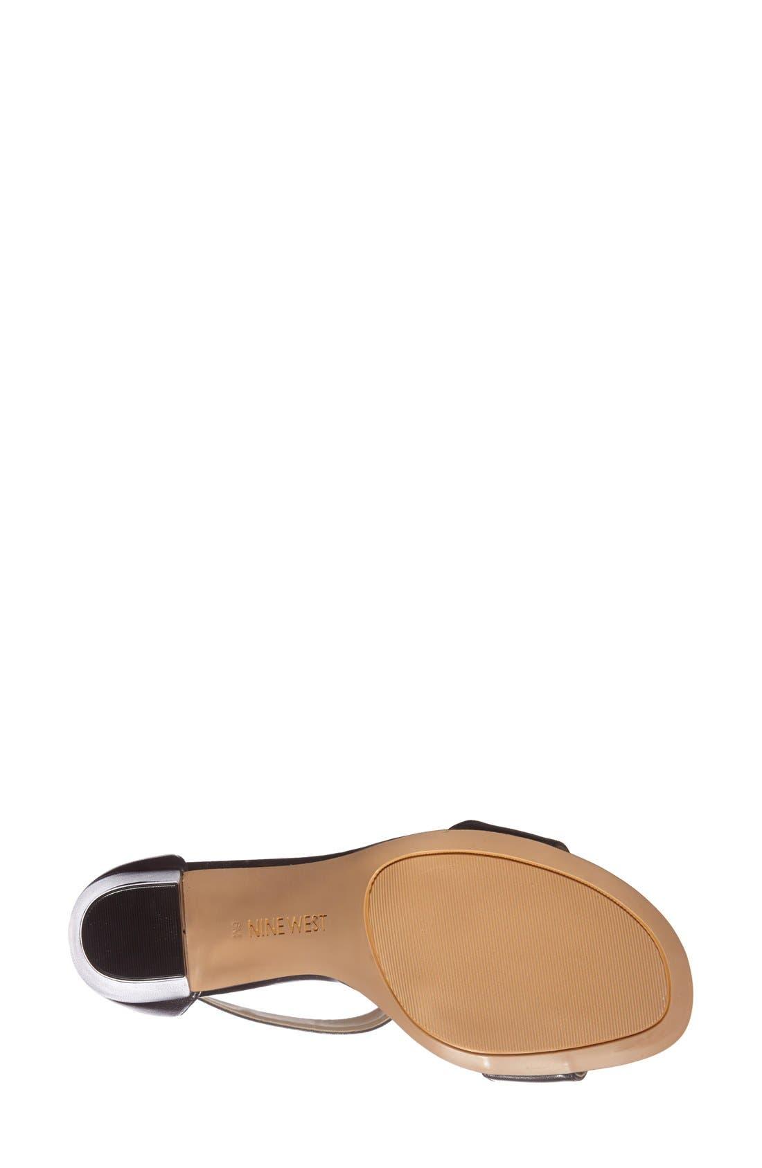 Alternate Image 2  - Nine West 'Brannah' T-Strap Sandal (Women)