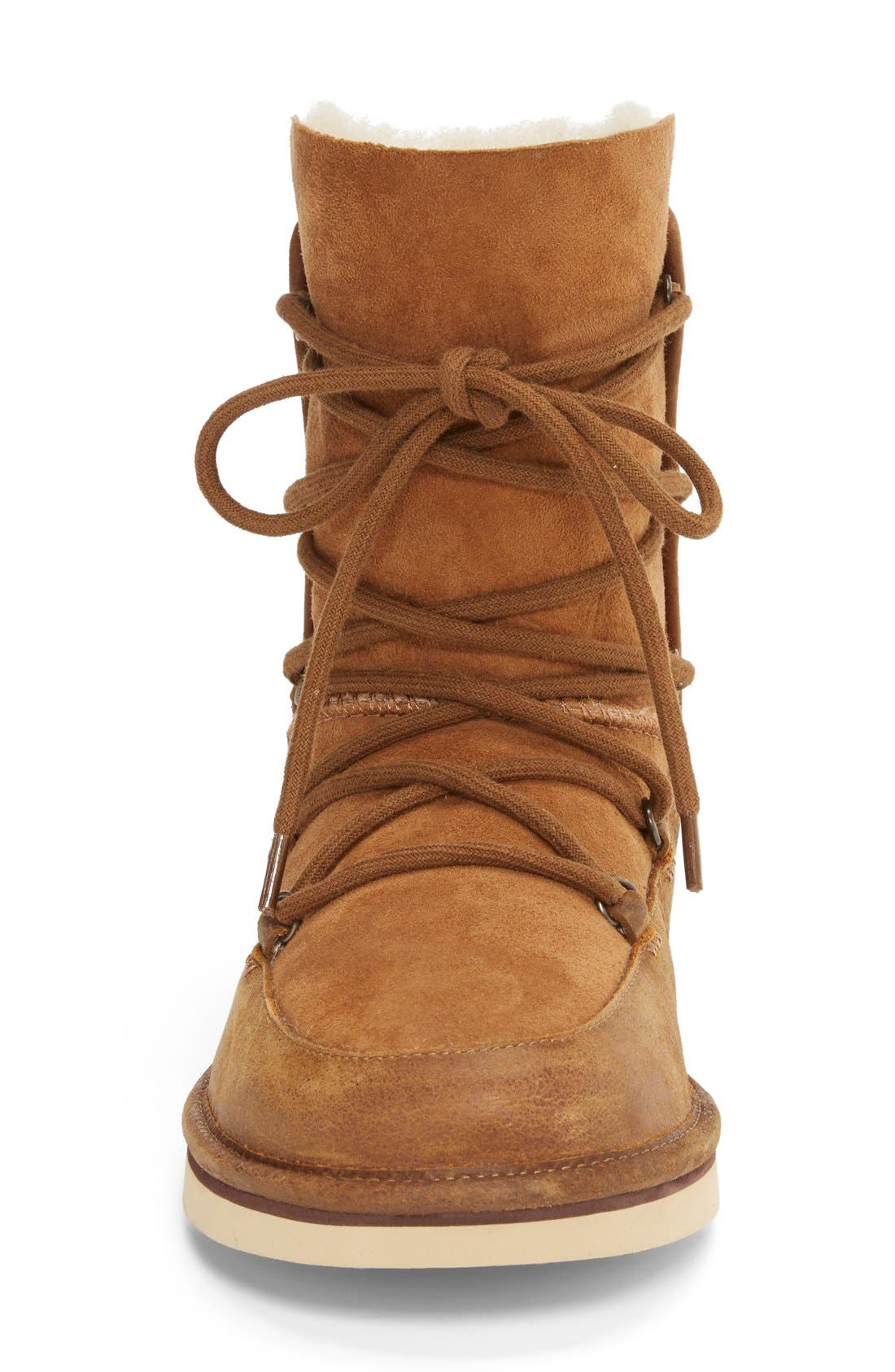 Alternate Image 3  - UGG® Lodge Water Resistant Lace-Up Boot (Women)