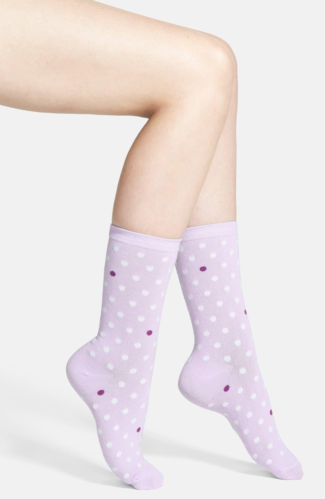 Alternate Image 1 Selected - kate spade new york dotted socks
