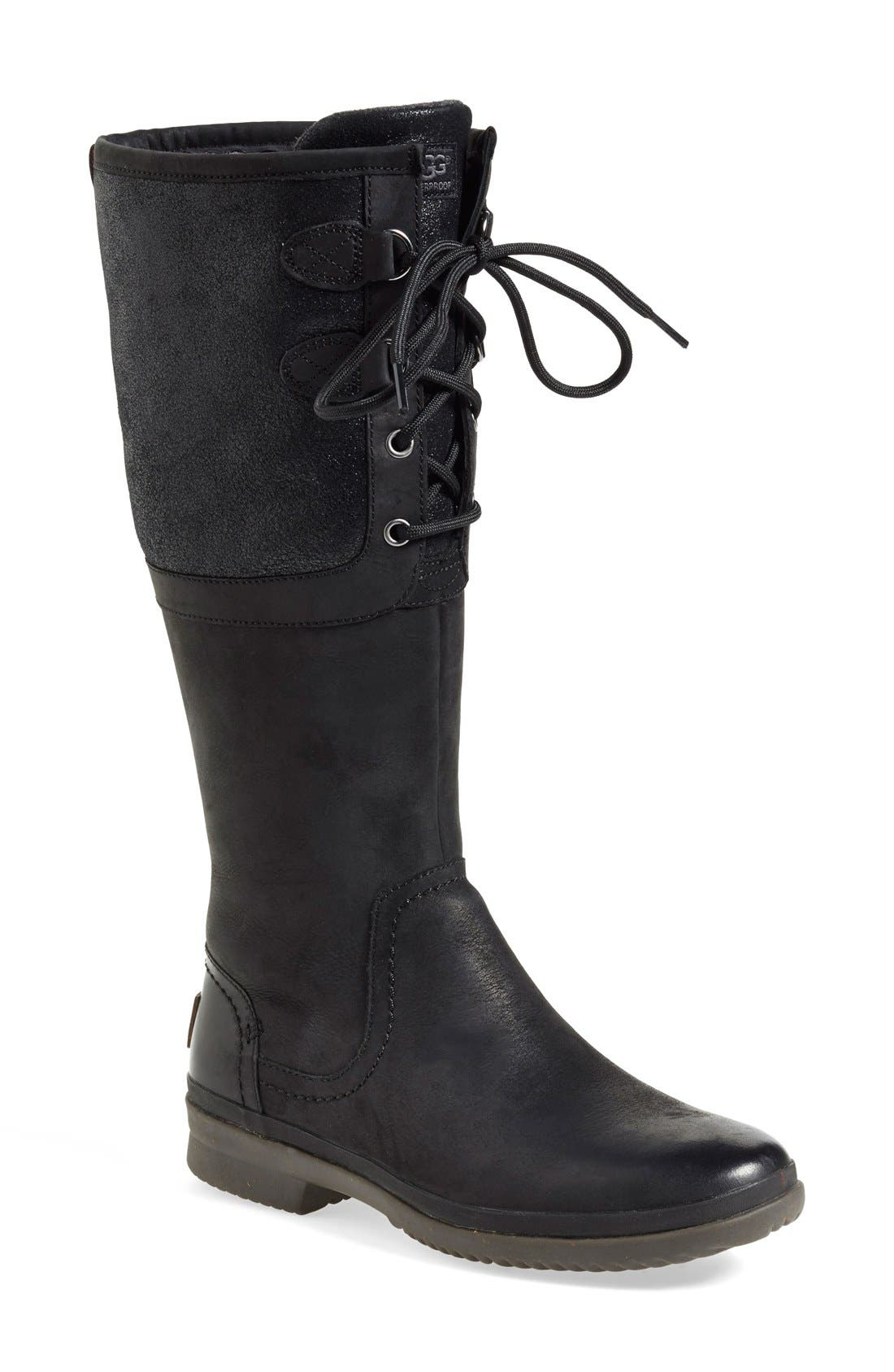 Alternate Image 1 Selected - UGG® 'Elsa' Waterproof Boot (Women)