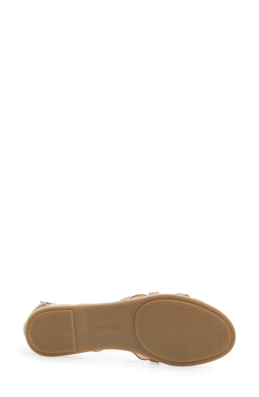 Alternate Image 4  - Sperry 'June' Leather Ankle Strap Sandal (Women)
