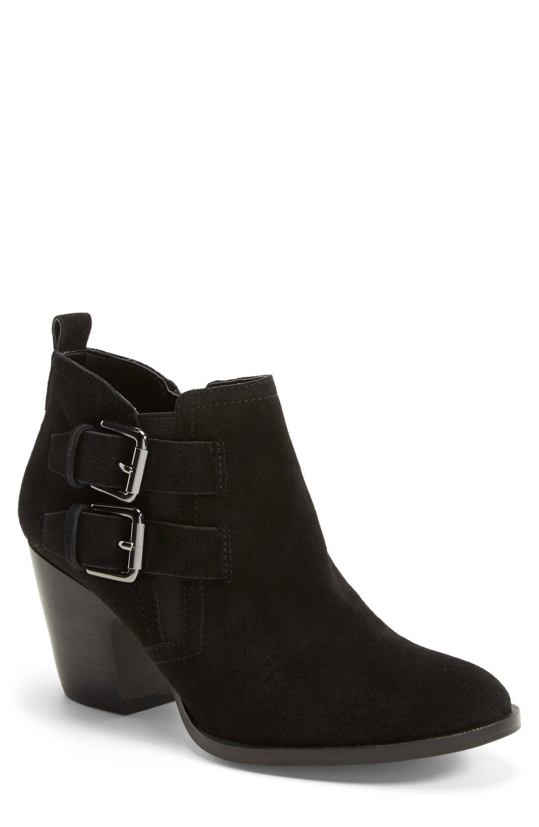 Alternate Image 1 Selected - Ivanka Trump 'Taren' Suede Bootie (Women)