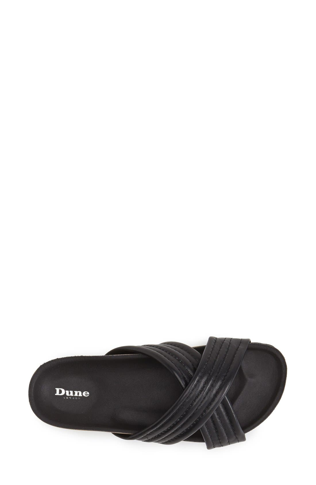 Alternate Image 3  - Dune London 'Jolenes' Leather Slide Sandal (Women)