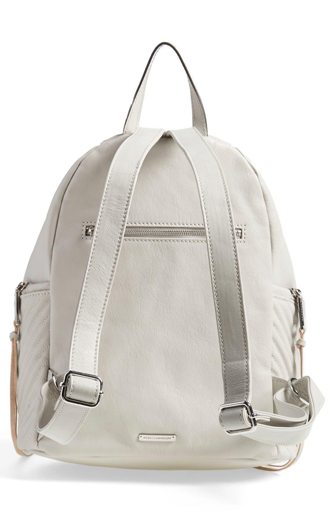 Alternate Image 3  - Rebecca Minkoff 'Line Quilted Julian' Backpack
