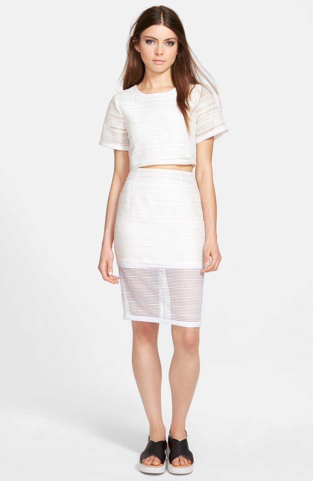 Alternate Image 4  - Whitney Eve 'Mosquito Bay' Pencil Skirt