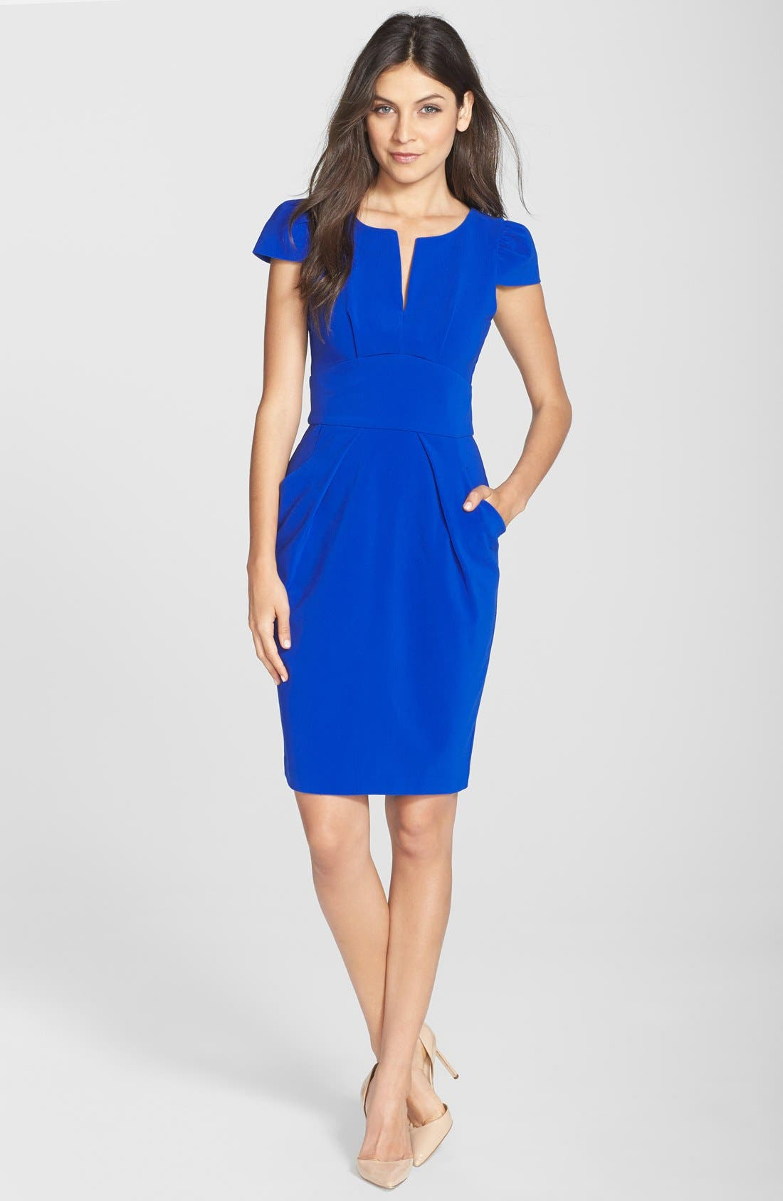 Alternate Image 3  - Clove Split Neck Sheath Dress (Nordstrom Exclusive)
