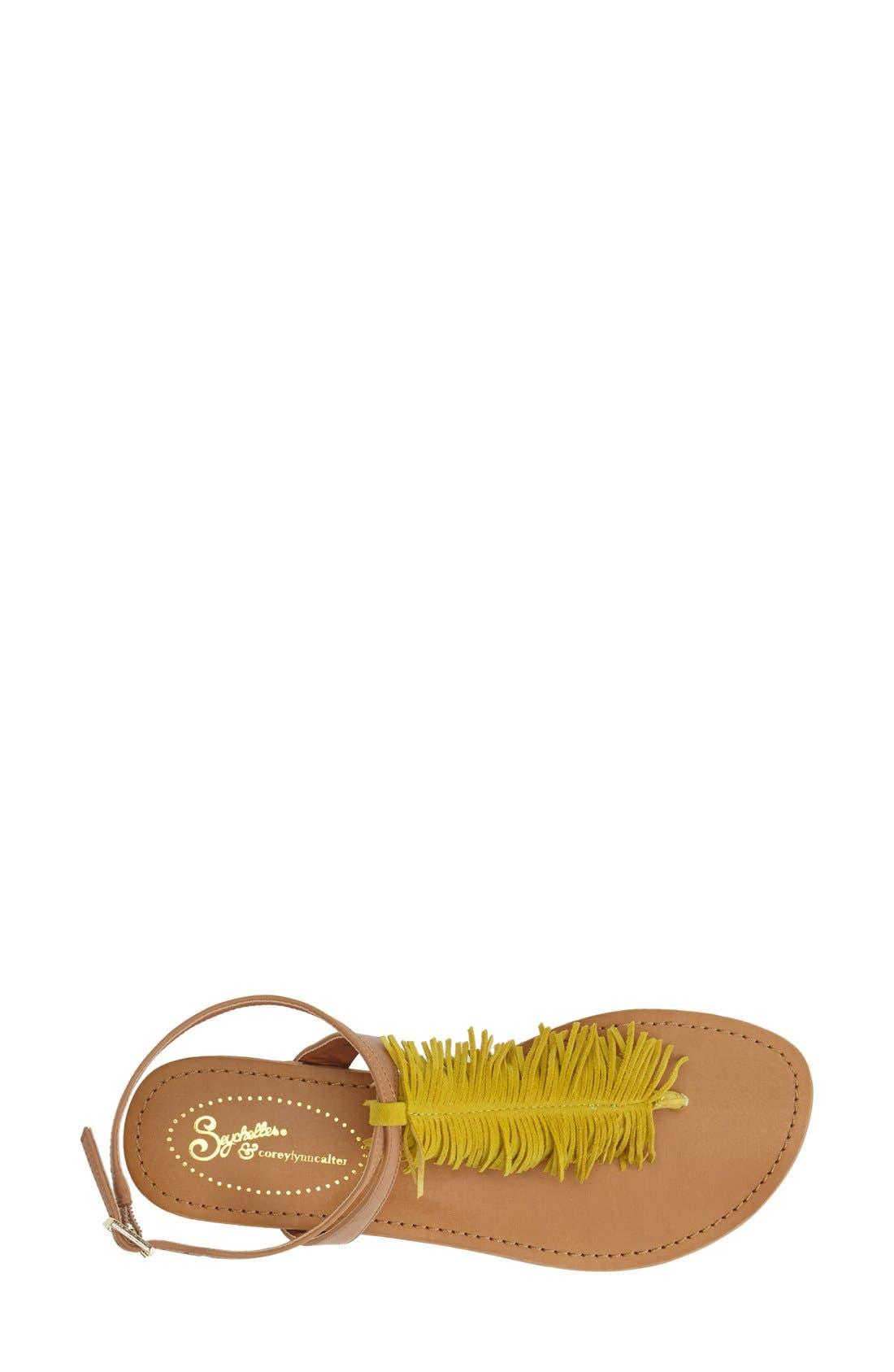 Alternate Image 3  - Seychelles 'Confetti' Ankle Strap Sandal (Women)