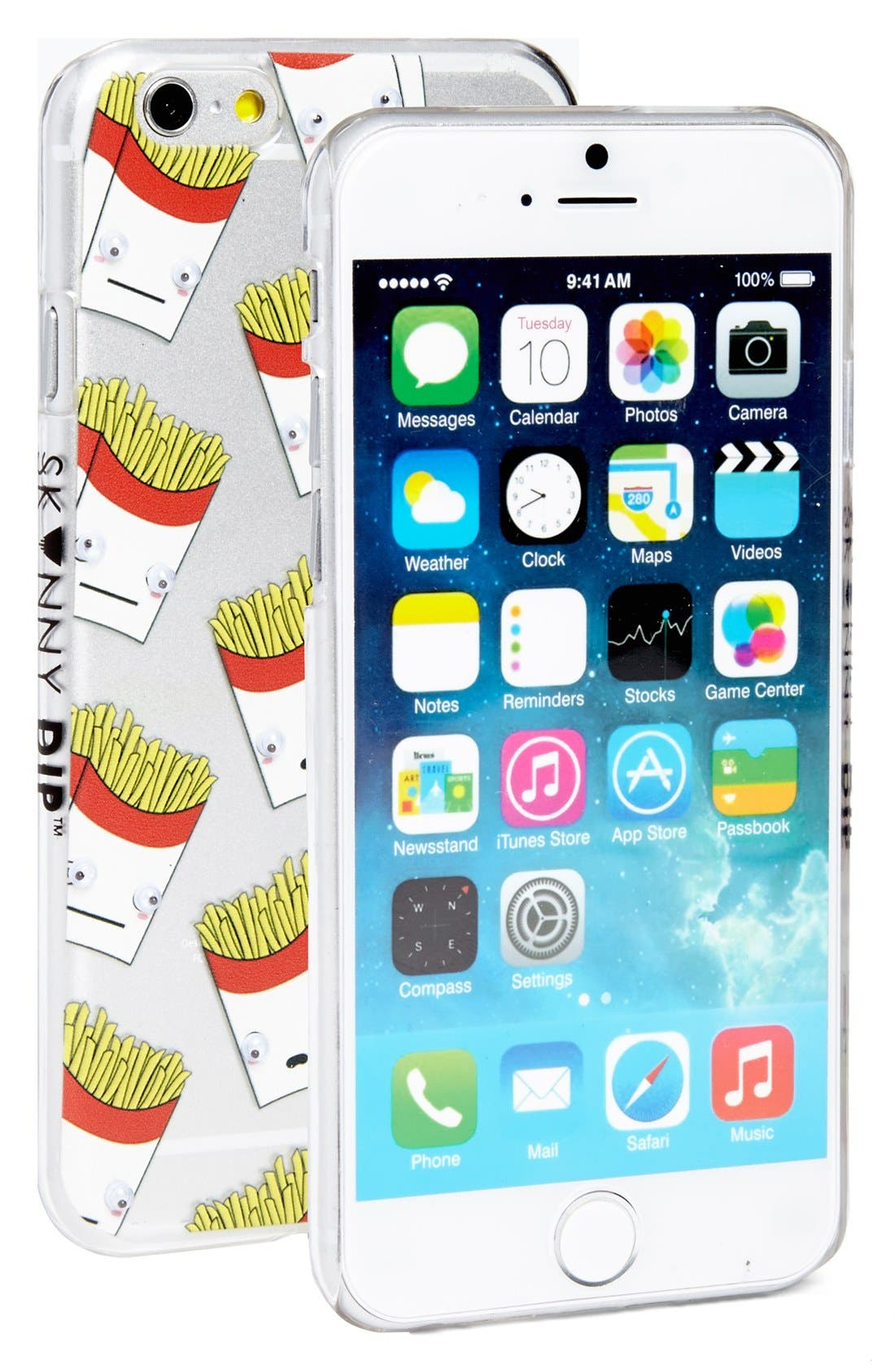 Alternate Image 2  - Skinnydip 'French Fries' Googly Eyes iPhone 6 & 6s Case