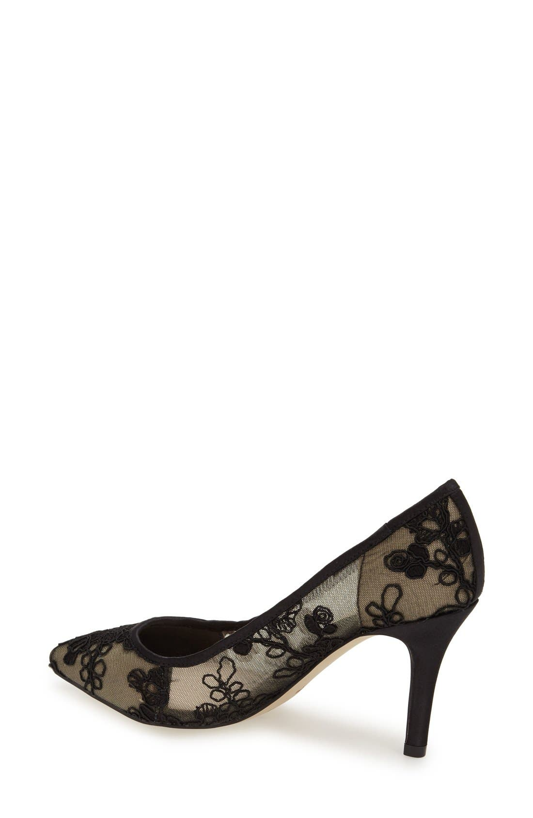 Alternate Image 2  - Menbur 'Delavigne' Lace Pump (Women)