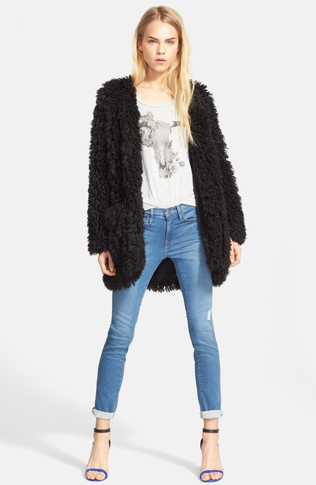 Alternate Image 4  - Frame Denim 'Le Skinny de Jeanne' Jeans (Alverstone) (Nordstrom Exclusive)