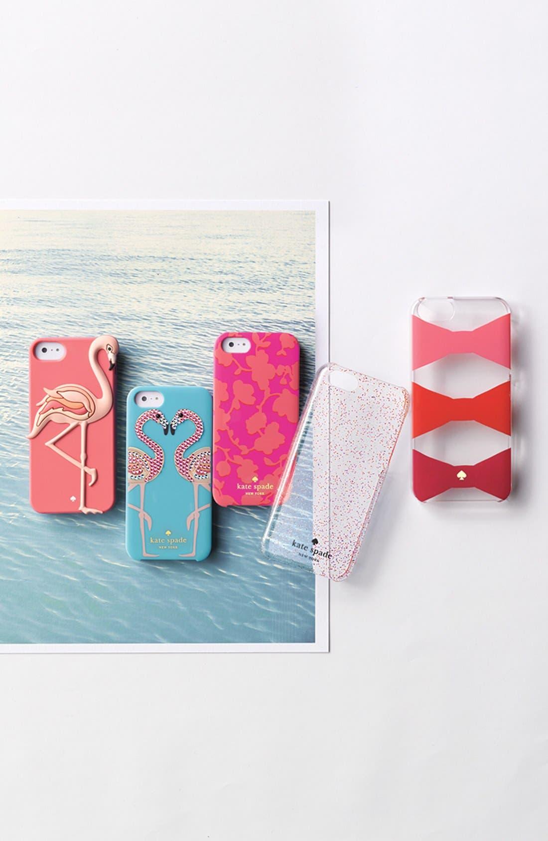 Alternate Image 2  - kate spade new york 'jeweled flamingo' iPhone 6 case