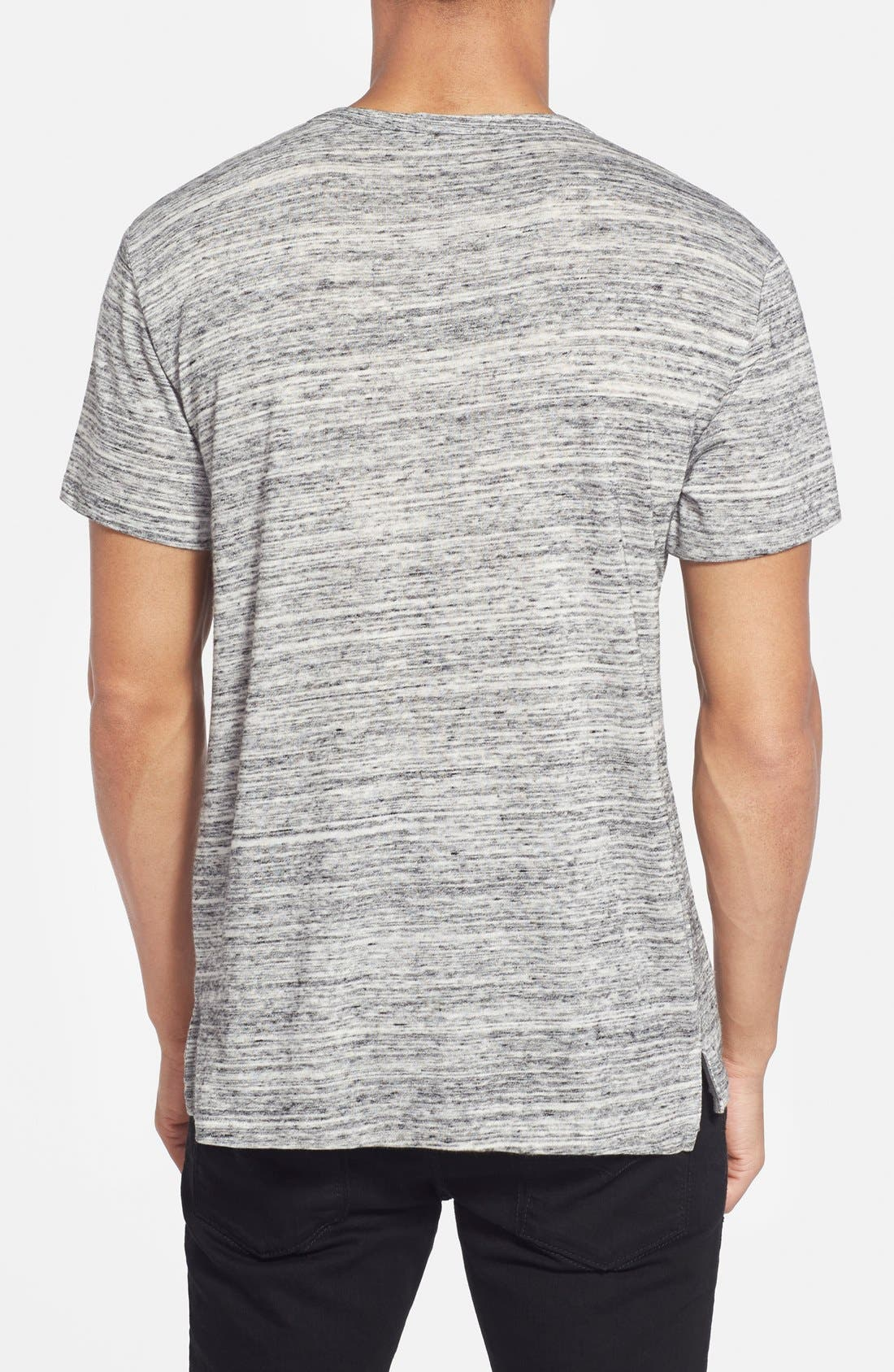 Alternate Image 2  - Alternative Space Dyed Henley T-Shirt