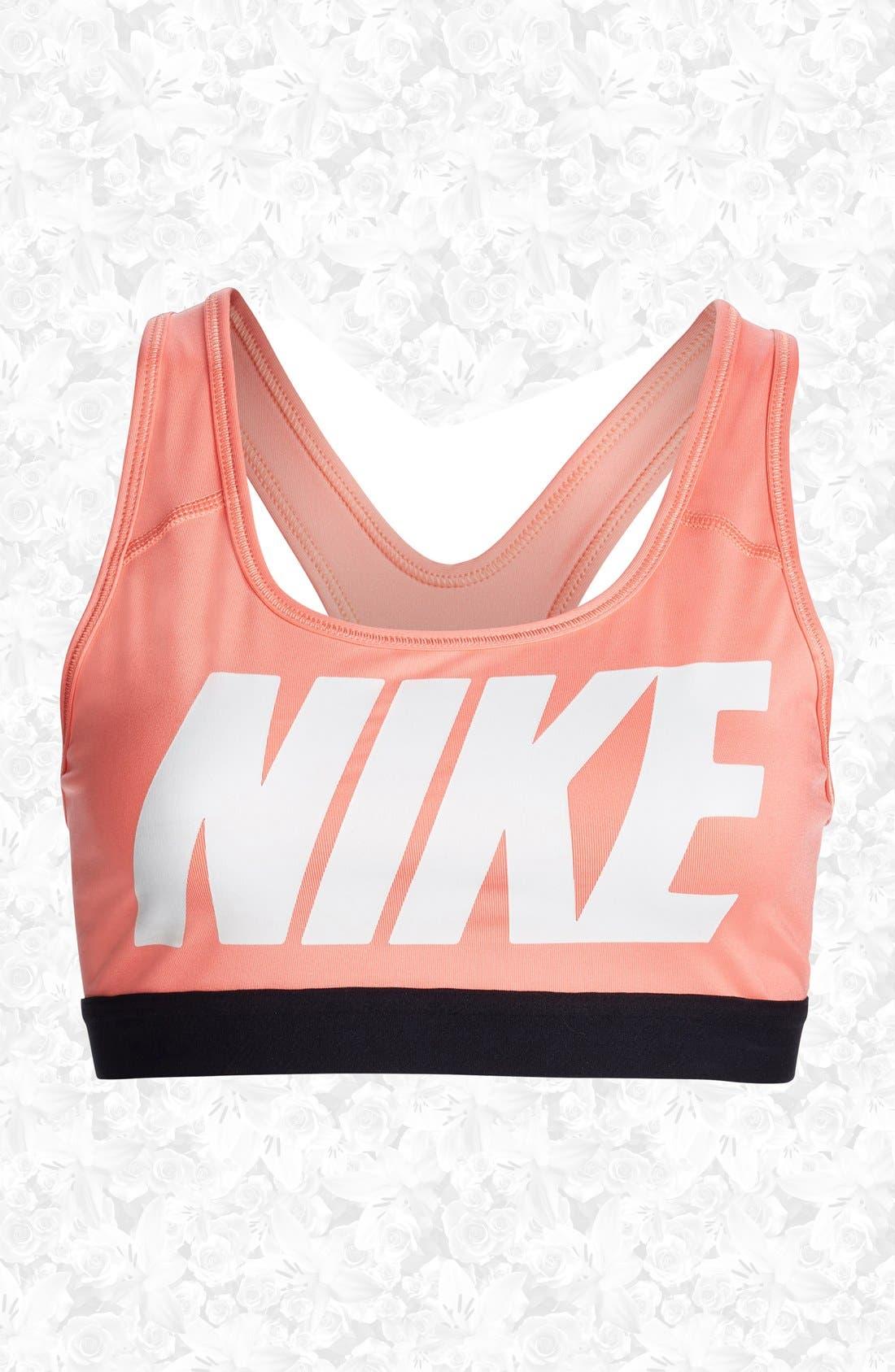 Alternate Image 1 Selected - Nike 'Pro Classic' Dri-FIT Sports Bra