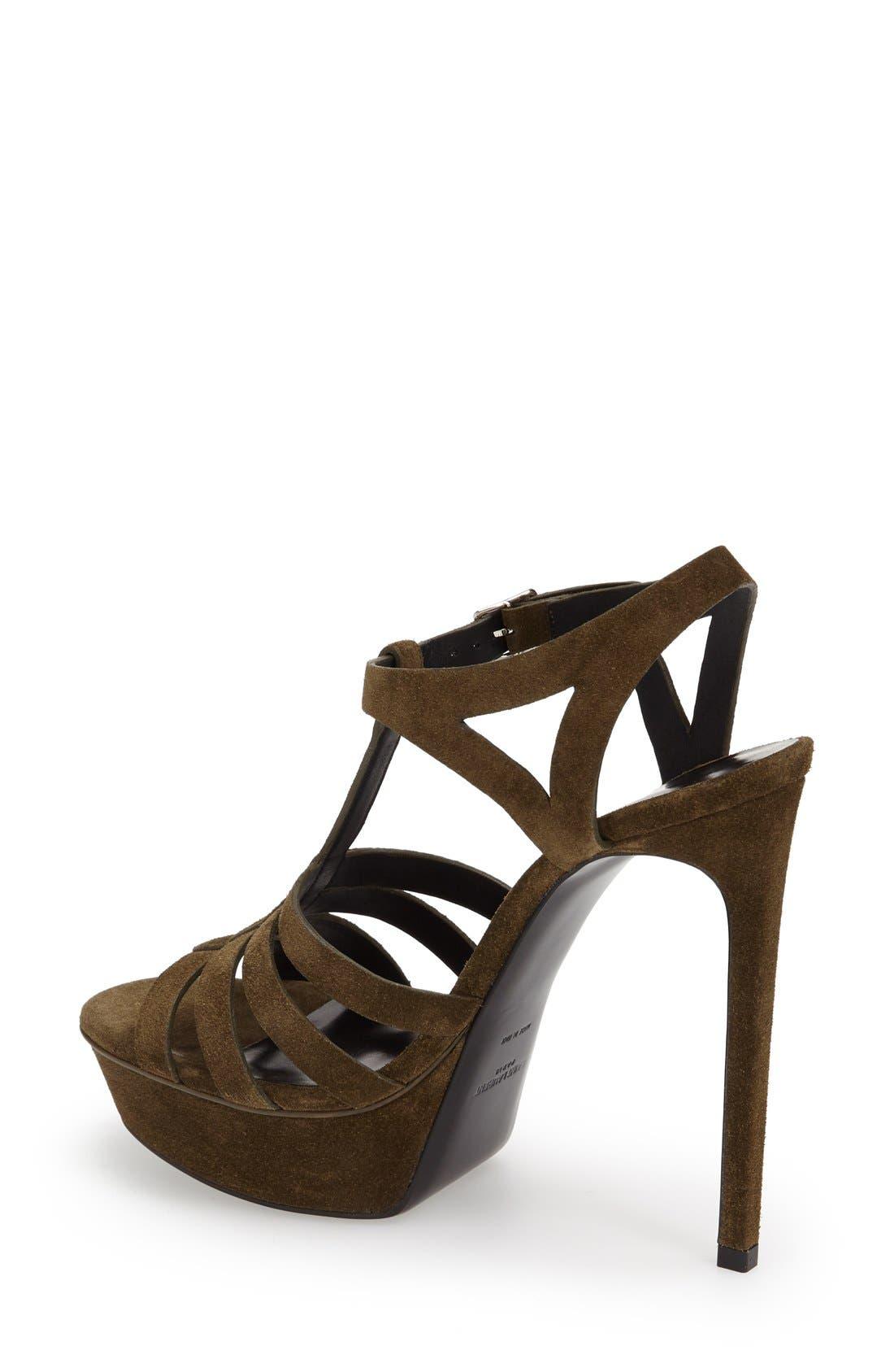 Alternate Image 2  - Saint Laurent 'Bianca' Platform Sandal (Women)