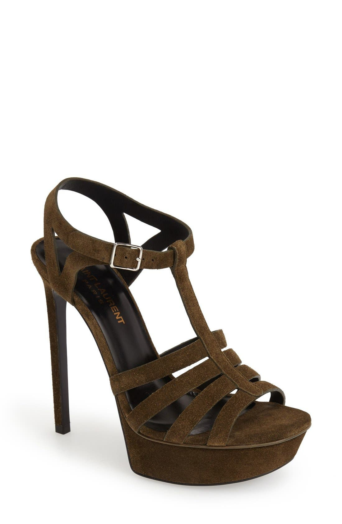 Alternate Image 1 Selected - Saint Laurent 'Bianca' Platform Sandal (Women)