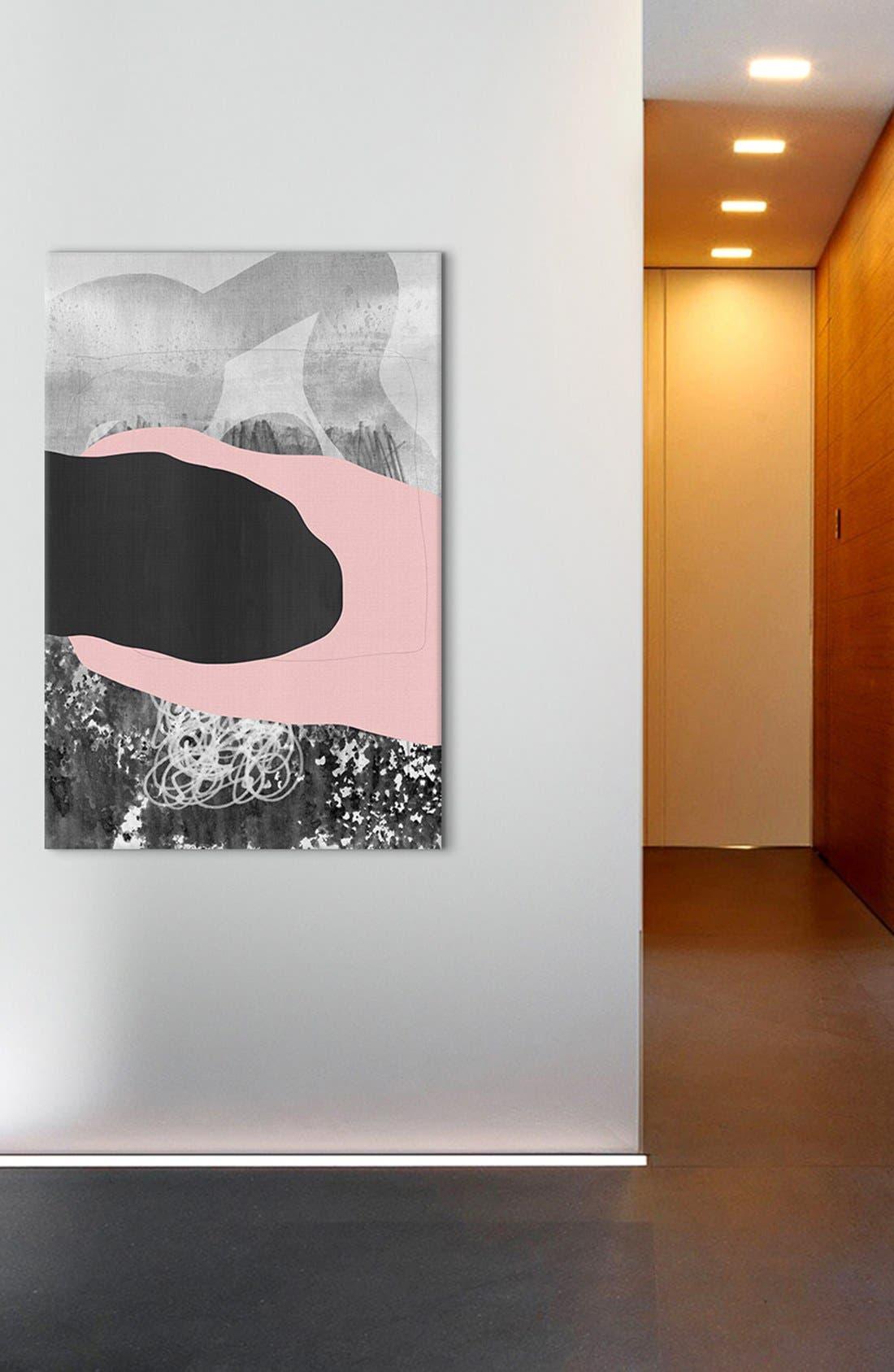 Alternate Image 2  - iCanvas 'Drink a Toast - Federico Saenz Recio' Giclée Print Canvas Art