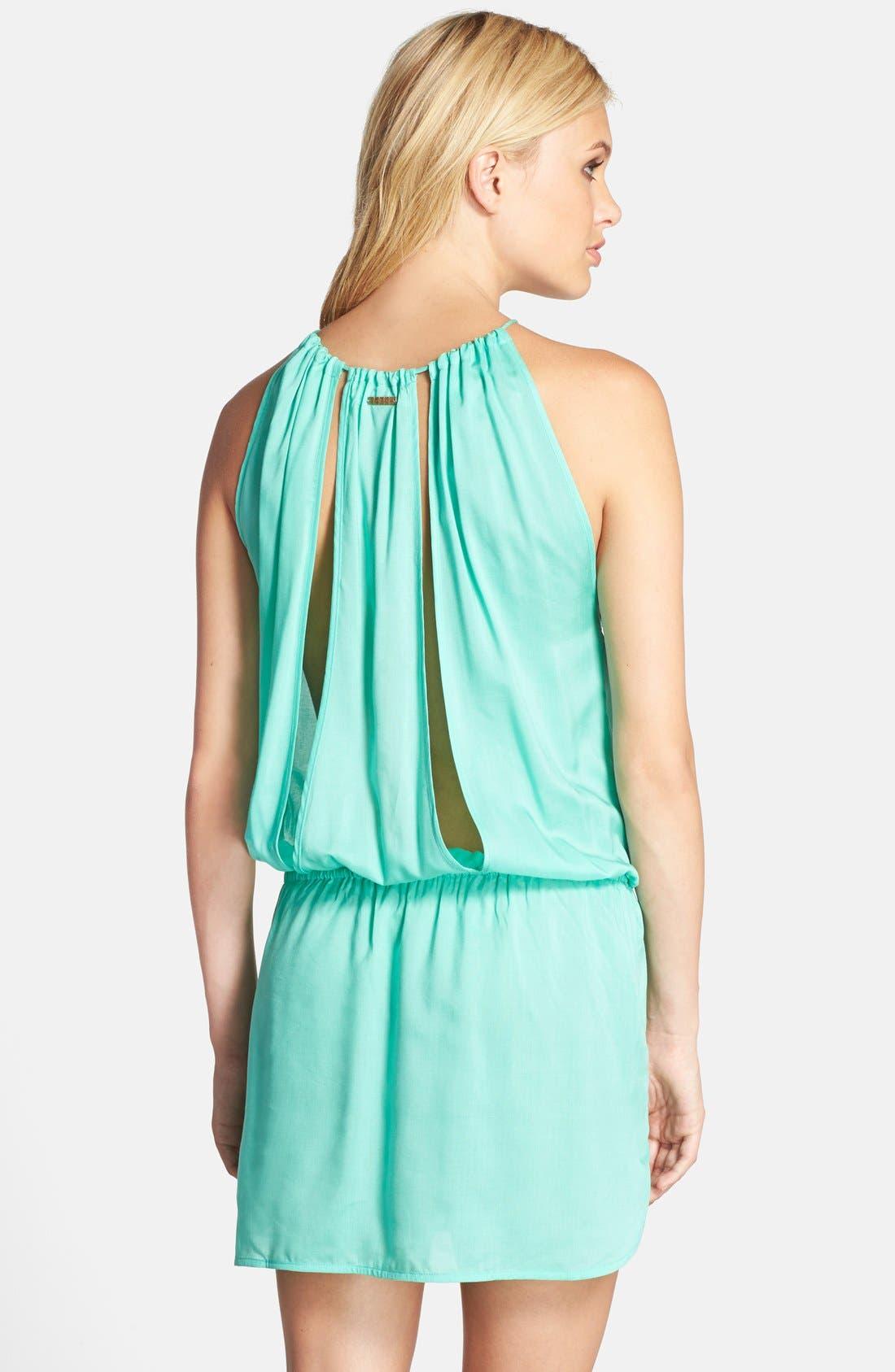 Alternate Image 2  - Sofia by ViX Swimwear Drop Waist Cover-Up Dress