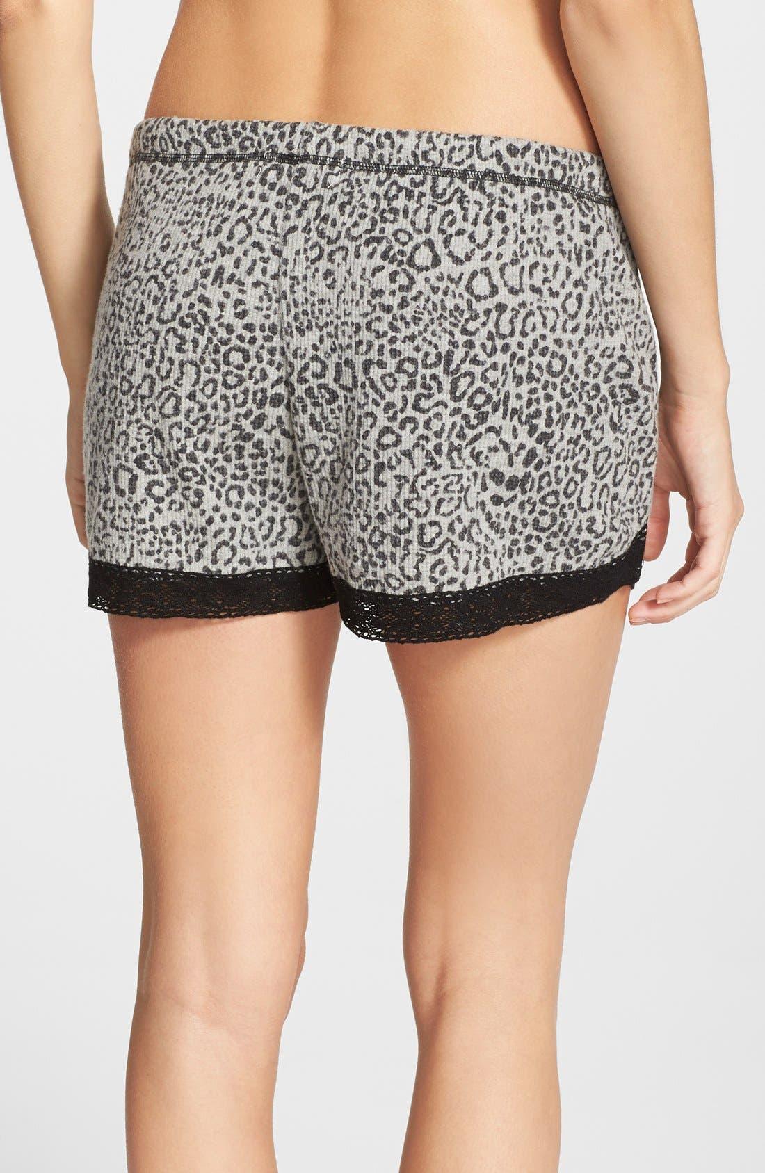 Alternate Image 2  - PJ Salvage Thermal Pajama Shorts